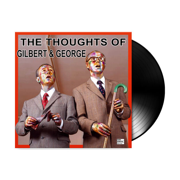 The Thoughts of Gilbert & George LP in color