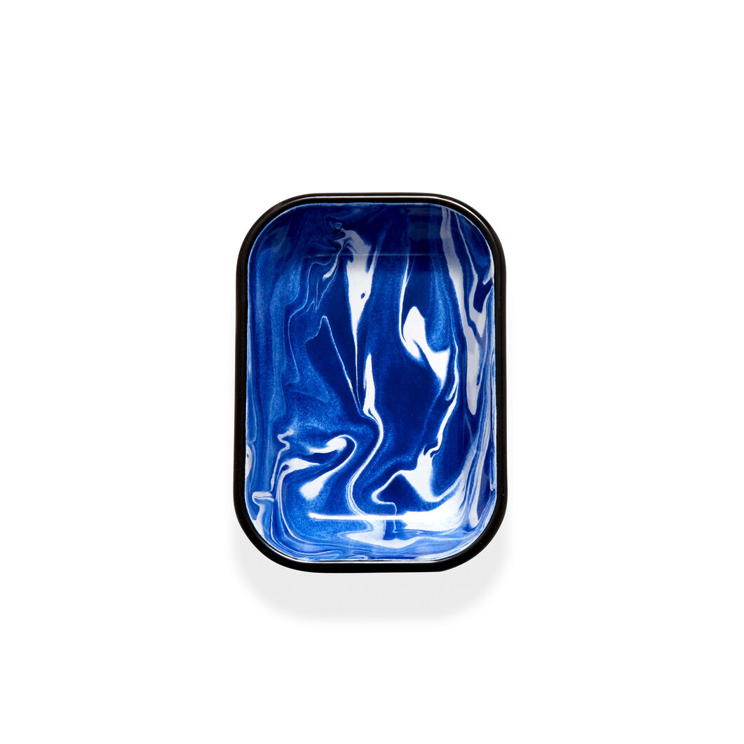 Swirl Baking Dish in color Blue