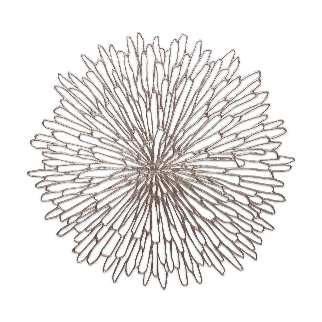 Chilewich Bloom Placemat in color Gunmetal