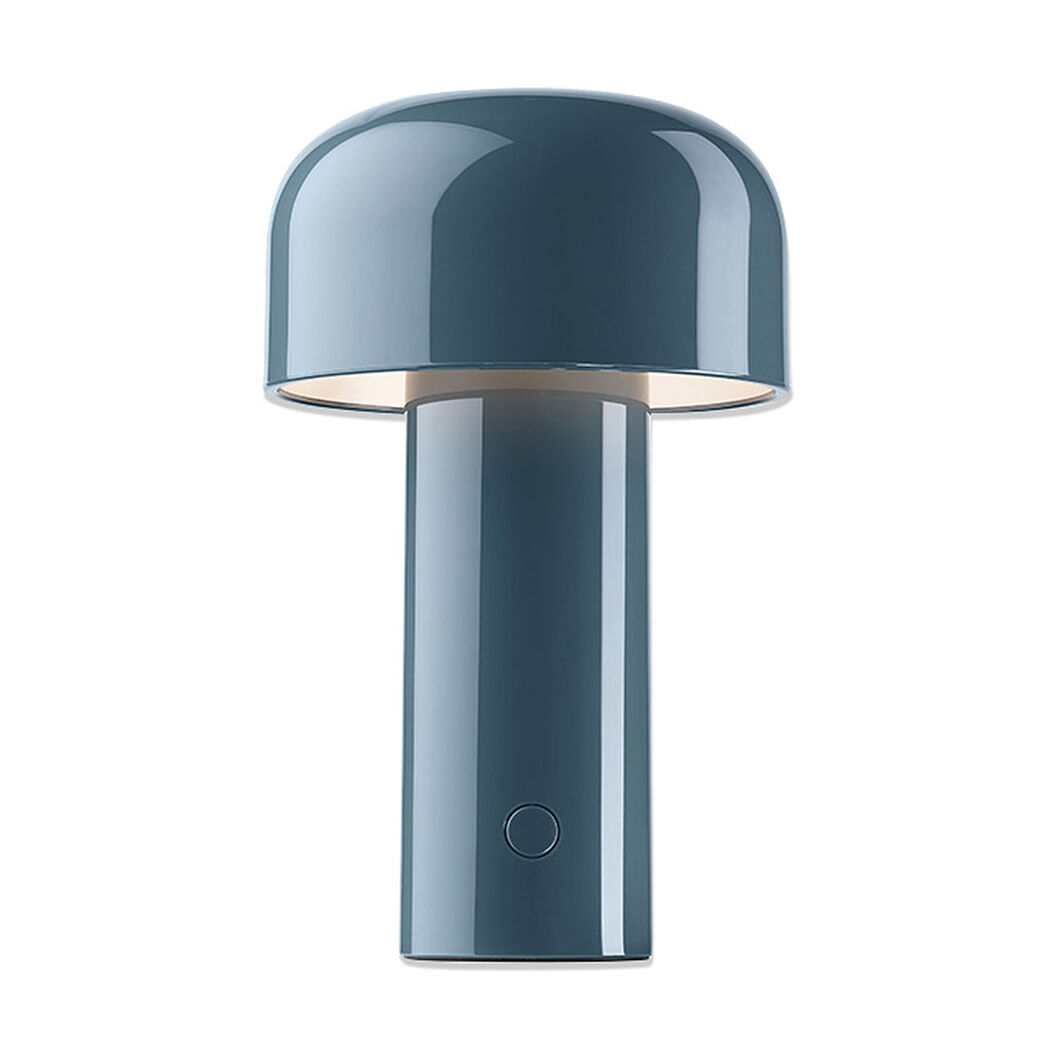 Flos Bellhop Lamp in color Grey Blue