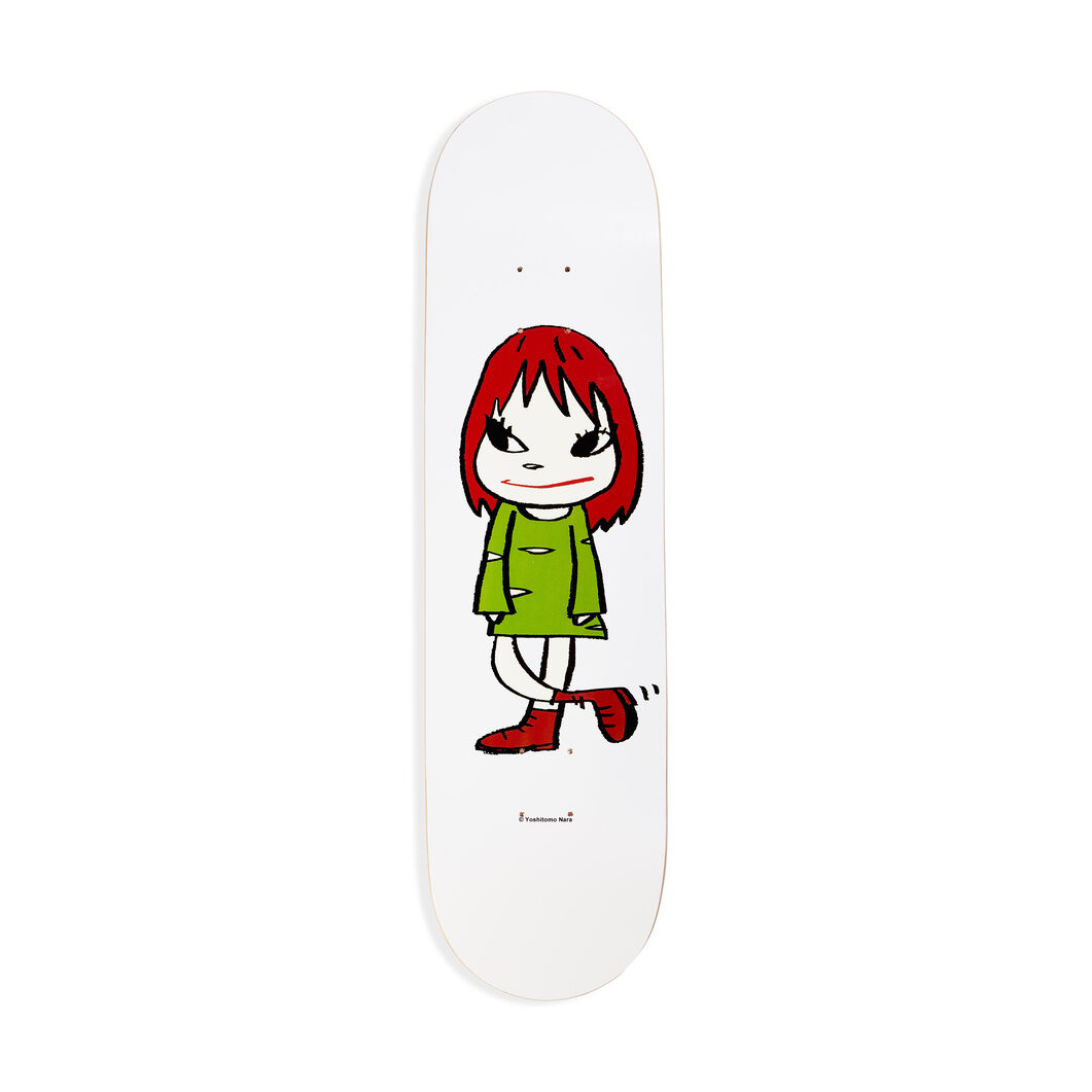 Yoshitomo Nara: Welcome Girl Skateboard in color