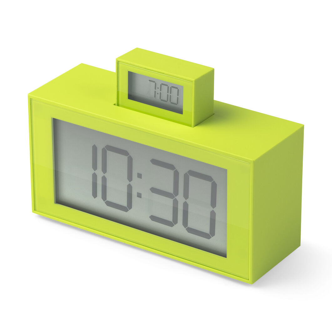 InOut Alarm Clock - Green in color Green