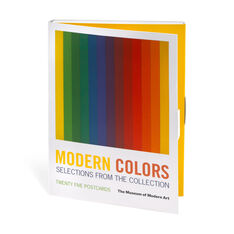 Modern Colors Postcard Book in color