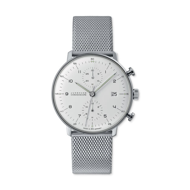 Max Bill Chronoscope Watch in color