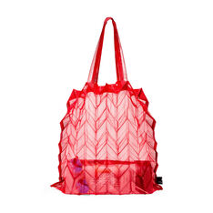 Origami Pleated Tote Bag in color