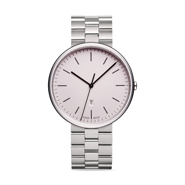 Uniform Wares M38 Polished Steel Women's Watch in color