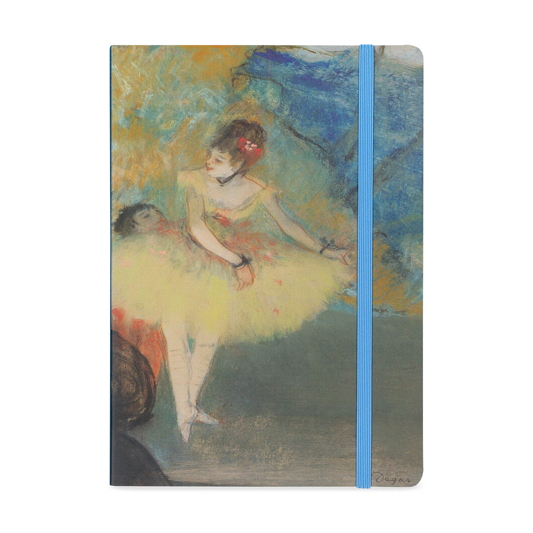 Degas: Dancer Gilded Journal in color