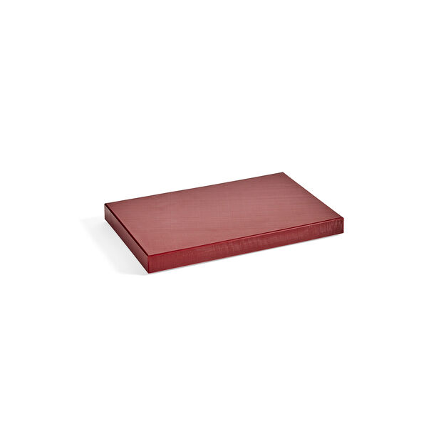 HAY Chopping Board in color Bordeaux