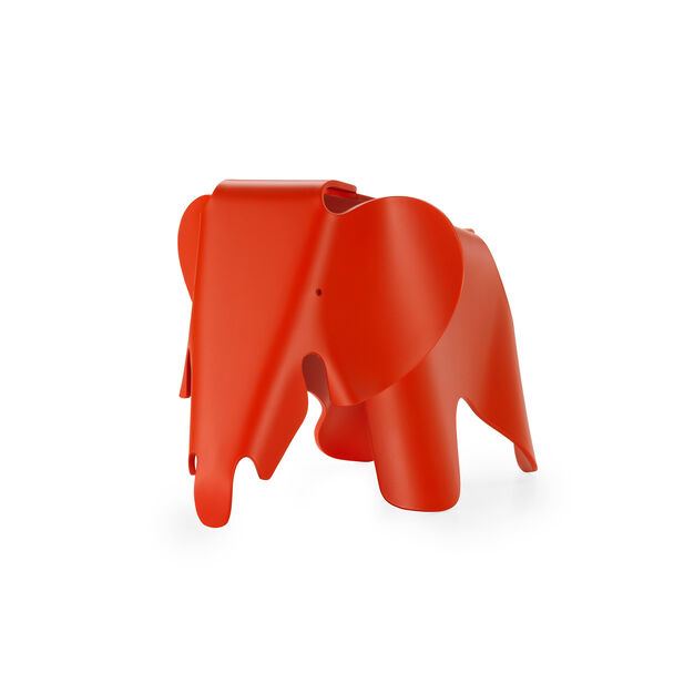 Colorful Eames® Elephant in color Red