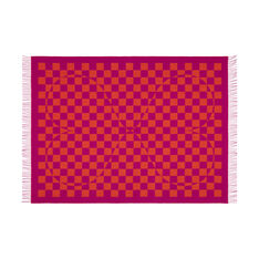 Alexander Girard Double Heart Blanket in color