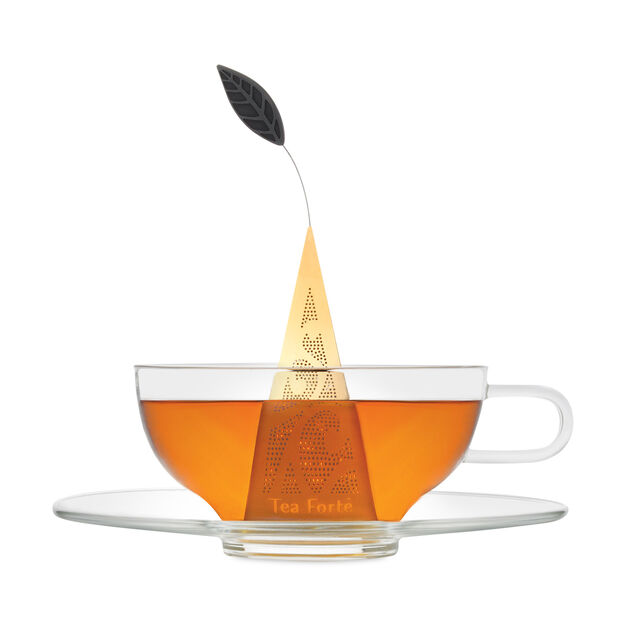 Tea Forte Gold Tea Infuser in color