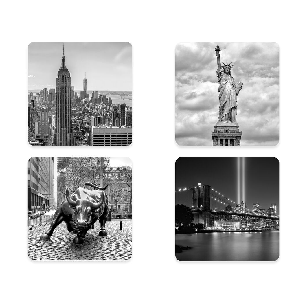NYC Coasters - Set of 4 in color