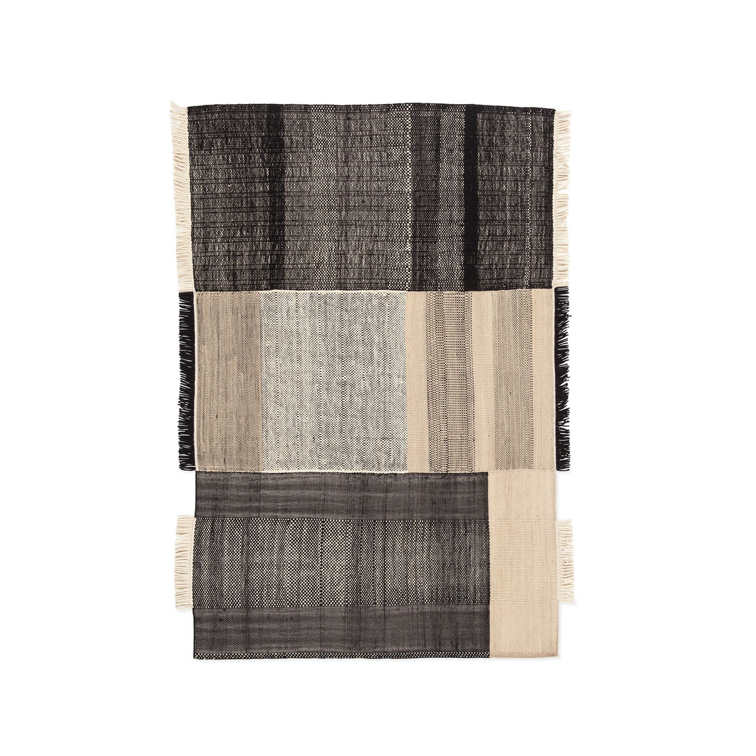 Nanimarquina Tres Rug in color Black