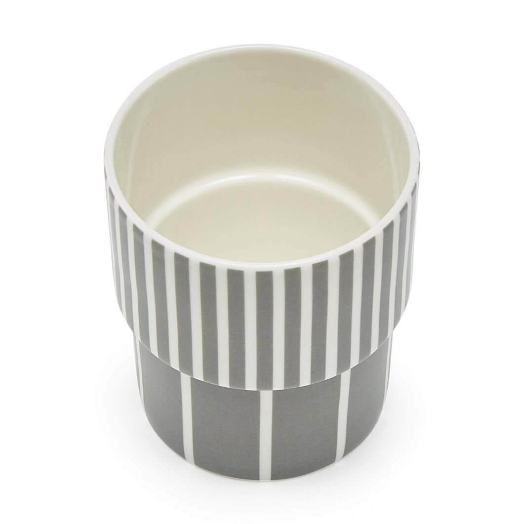 Lolli Stacking Cup in color Gray