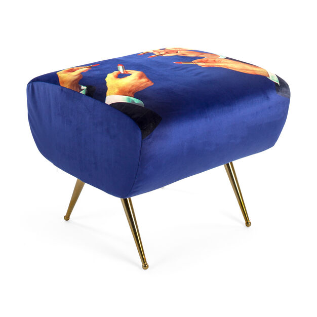 Seletti Wears Toiletpaper: Lipsticks Pouf in color