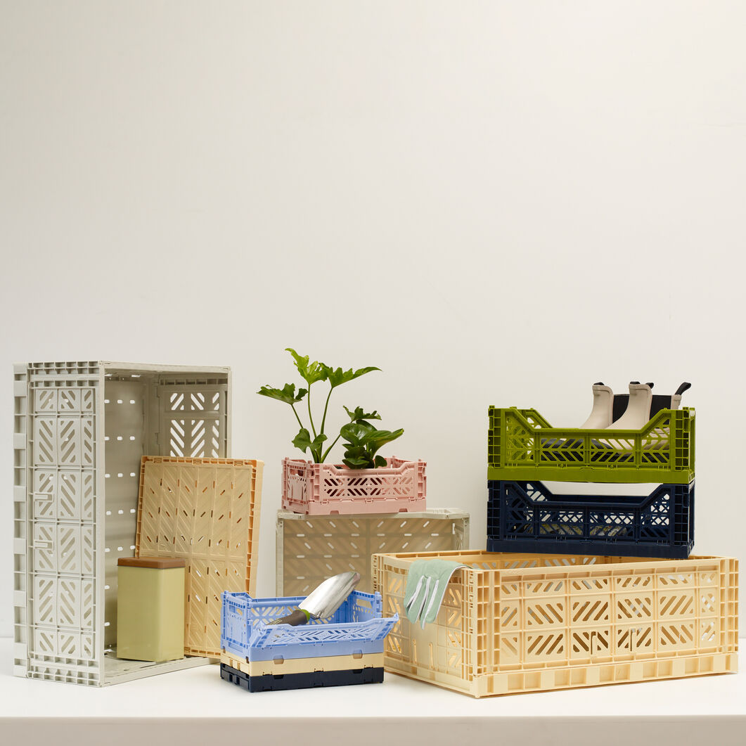 HAY Collapsible Storage Bins in color