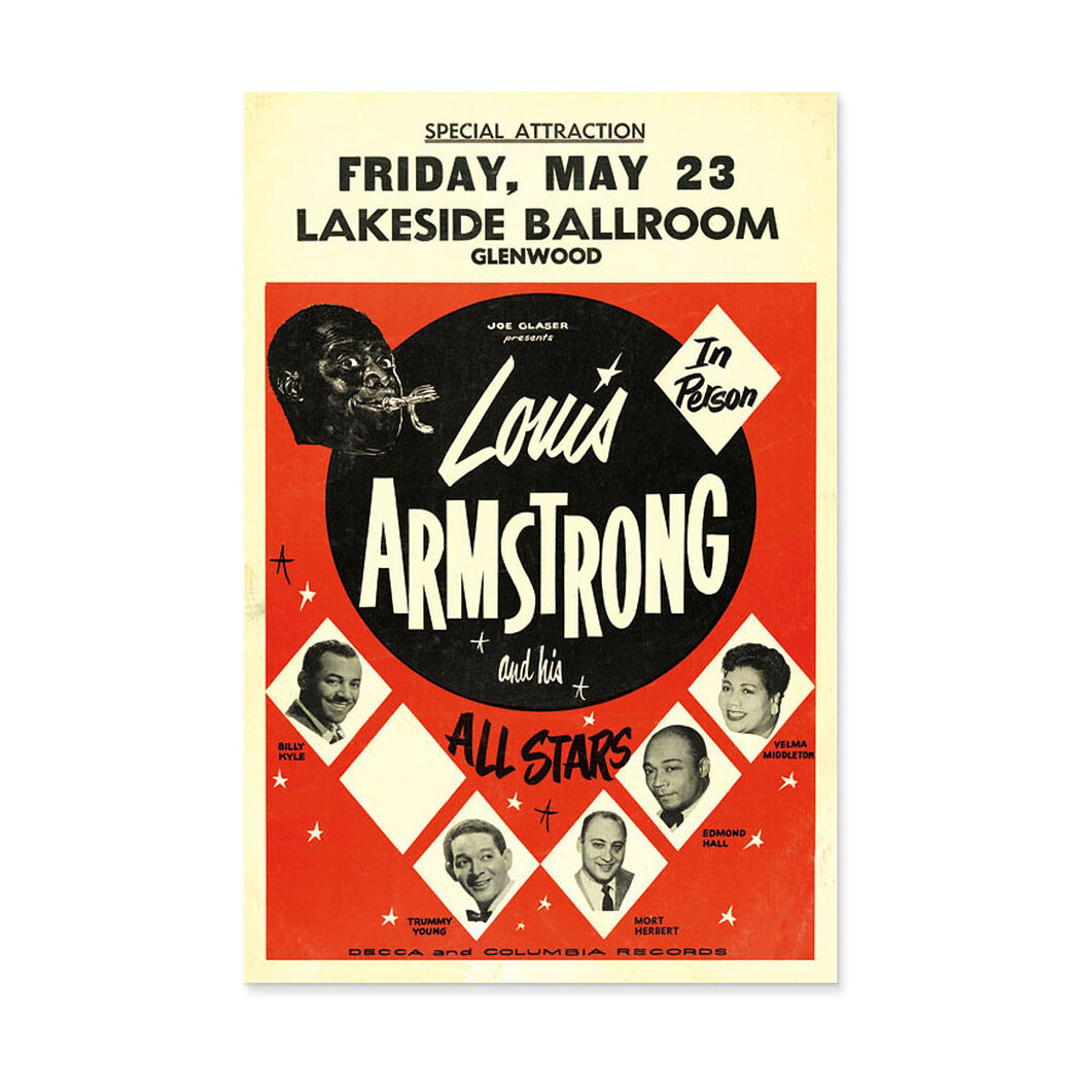 Louis Armstrong: All Stars Poster in color