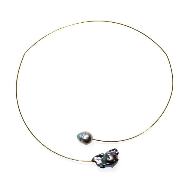Melissa McArthur Keshi Pearl Necklace in color