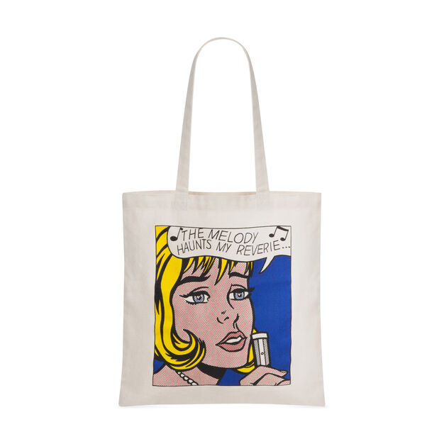 Roy Lichtenstein: Melody Canvas Tote Bag in color