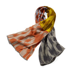 L'Automne Brushstrokes Scarf in color Multi