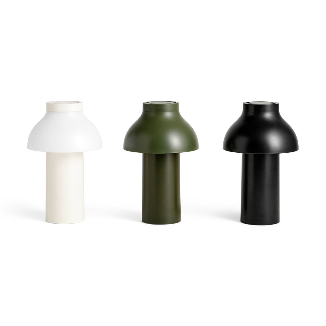 HAY PC Portable Lamps in color Olive