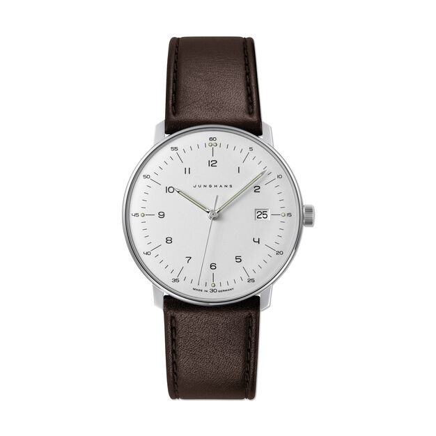 Max Bill Quartz Watch in color Silver