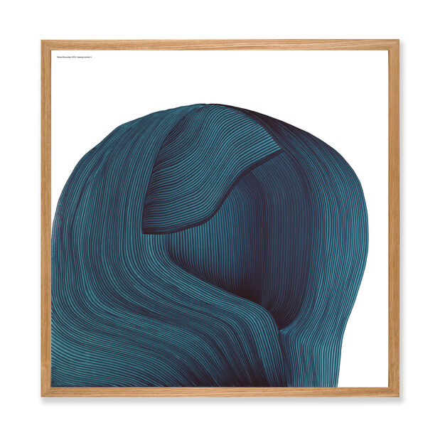 Ronan Bouroullec: Drawing 4, 2019 Framed Poster in color