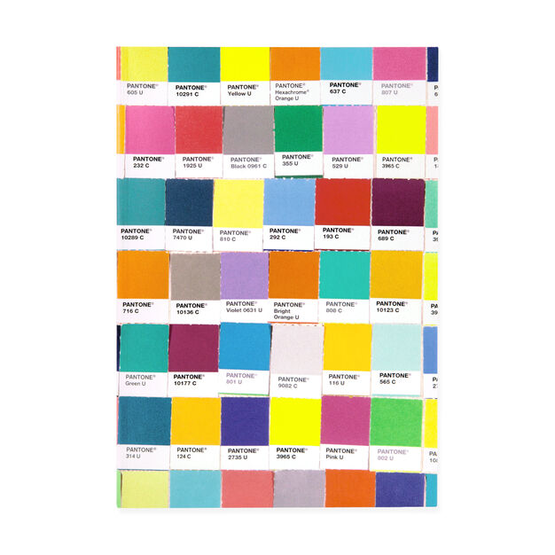 Pantone Chips Journal in color