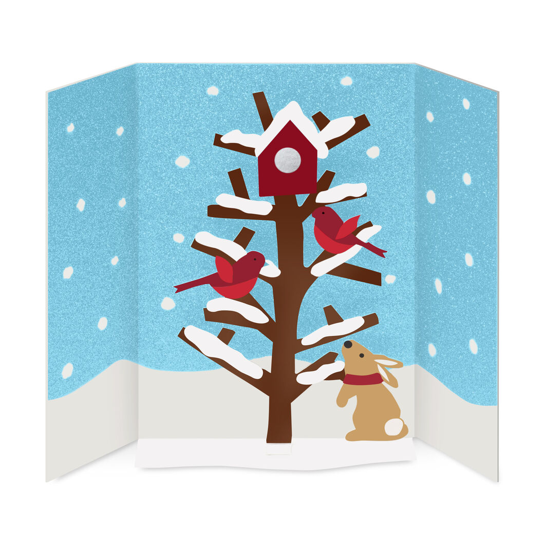 Cheerful Cardinals Holiday Cards - Set of 8 in color