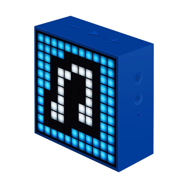 Mini Timebox Clock Speaker in color Blue