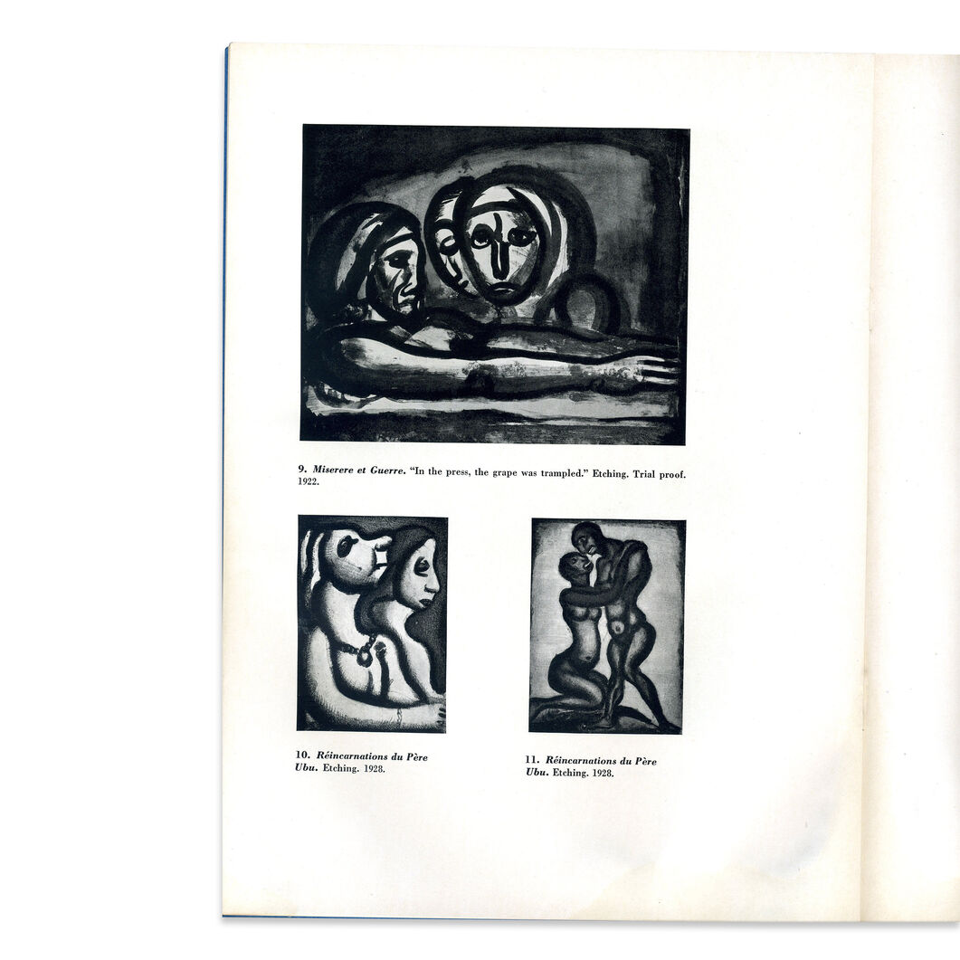 The Prints of George Rouault - Paperback in color