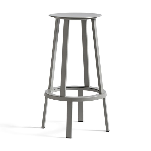 HAY Revolver Counter Stool in color Sky Grey