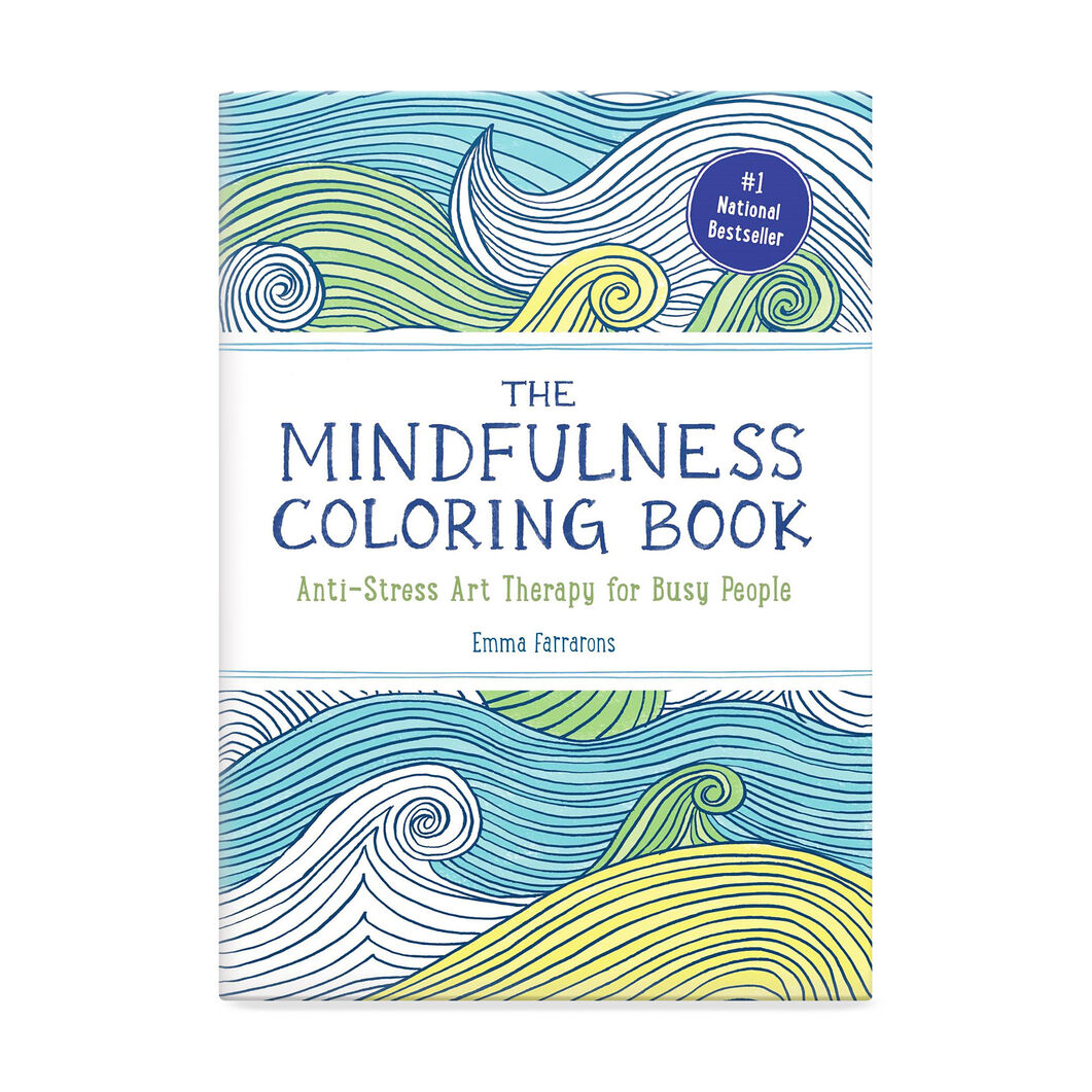 The Mindfulness Coloring Book: Anti-Stress Art Therapy for Busy People in color