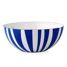 Large Striped Bowl in color