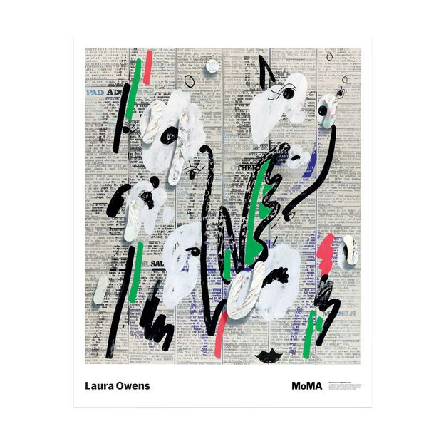 Laura Owens: Untitled Poster in color