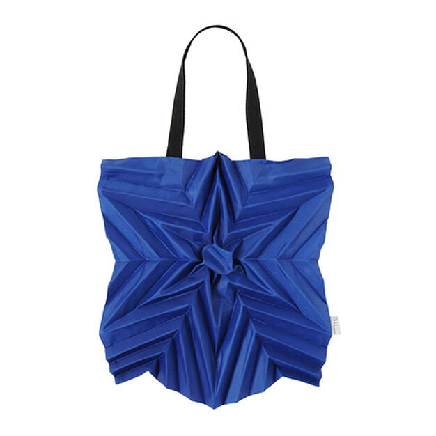 Issey Miyake Star Pleats Bag in color Blue