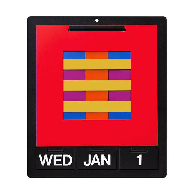 Perpetual Wall Calendar in color