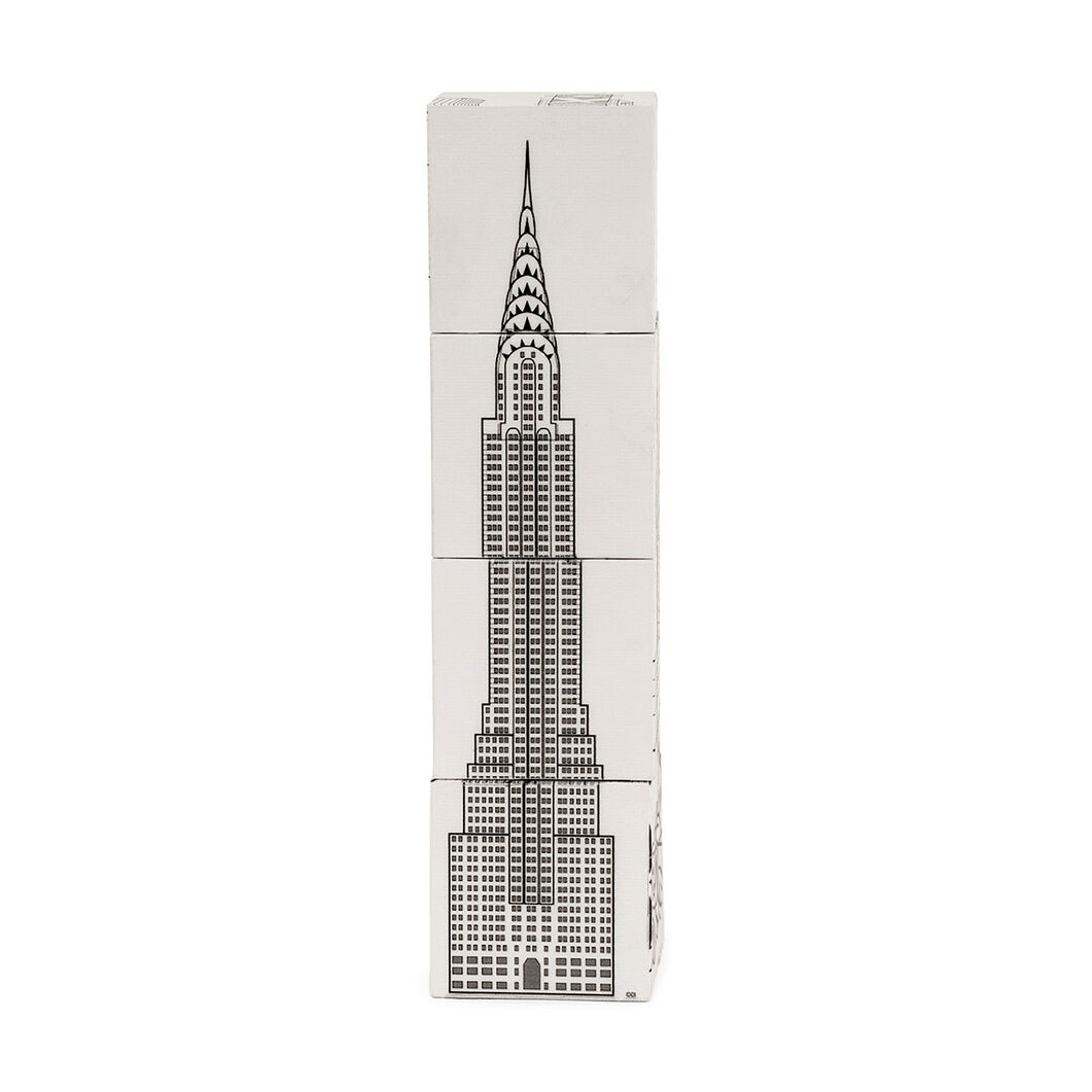 Magnetic New York City Puzzle Blocks in color