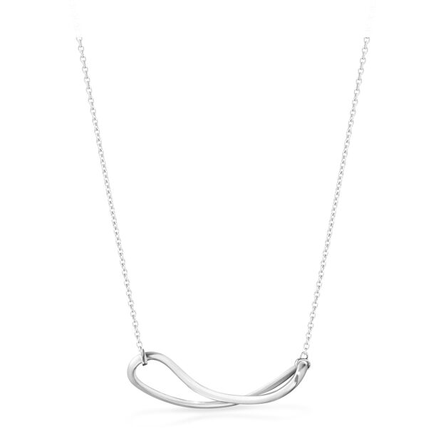 Georg Jensen Infinity Pendant Necklace in color