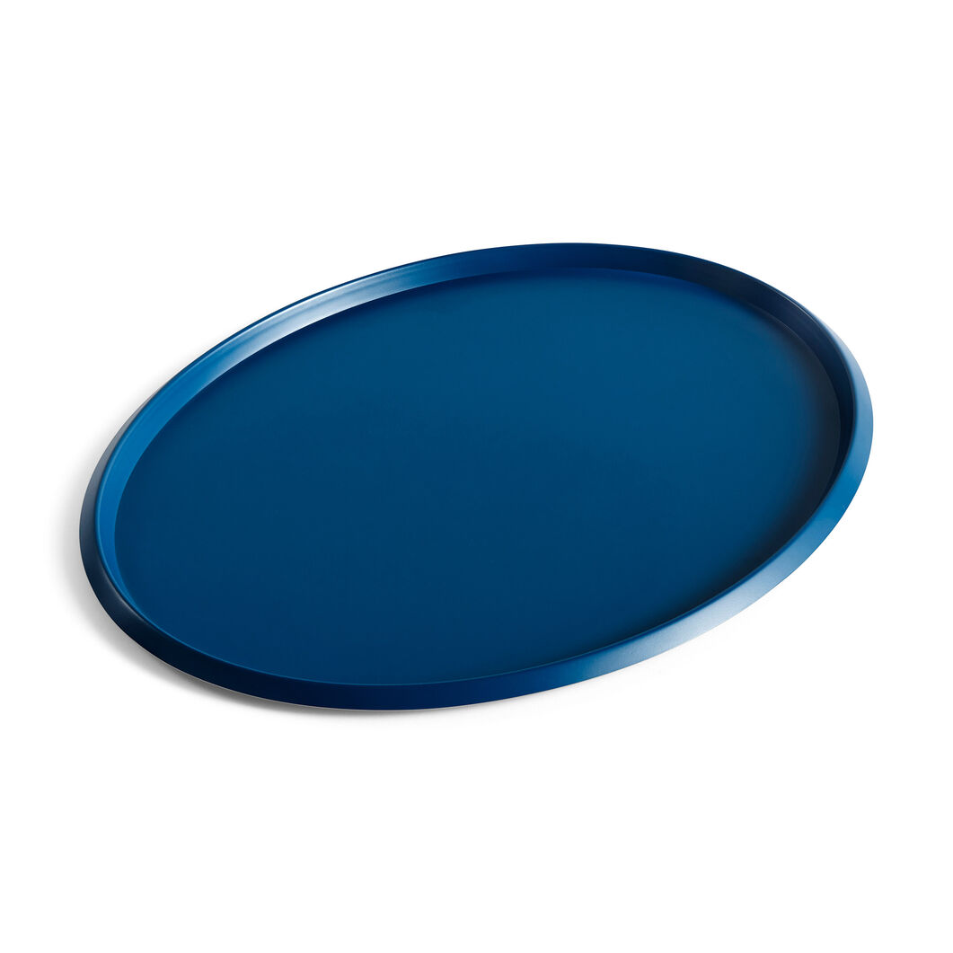 HAY Ellipse Trays in color Blue