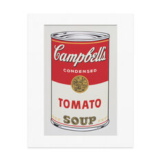 Warhol: Untitled from Campbell's Soup Print in color
