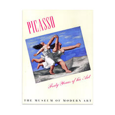 Picasso: Forty Years of His Art (3rd Printing)  - Paperback in color