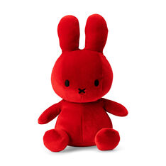 "Velvet Plush Miffy 13"" in color"