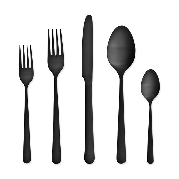 Matte Black Flatware in color