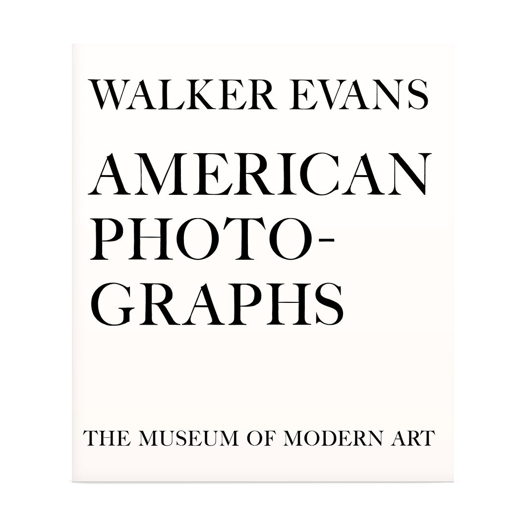 Walker Evans: American Photographs. Seventy-Fifth Anniversary Edition in color