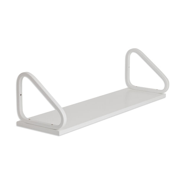 Artek Aalto Wall Shelf 112B in color White