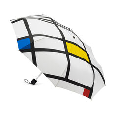 Mondrian White Mini Umbrella in color