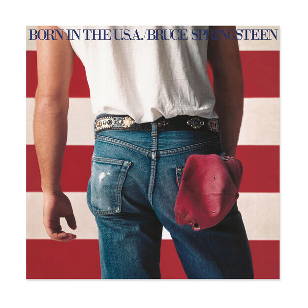 Bruce Springsteen: Born in the U.S.A. Vinyl Record in color