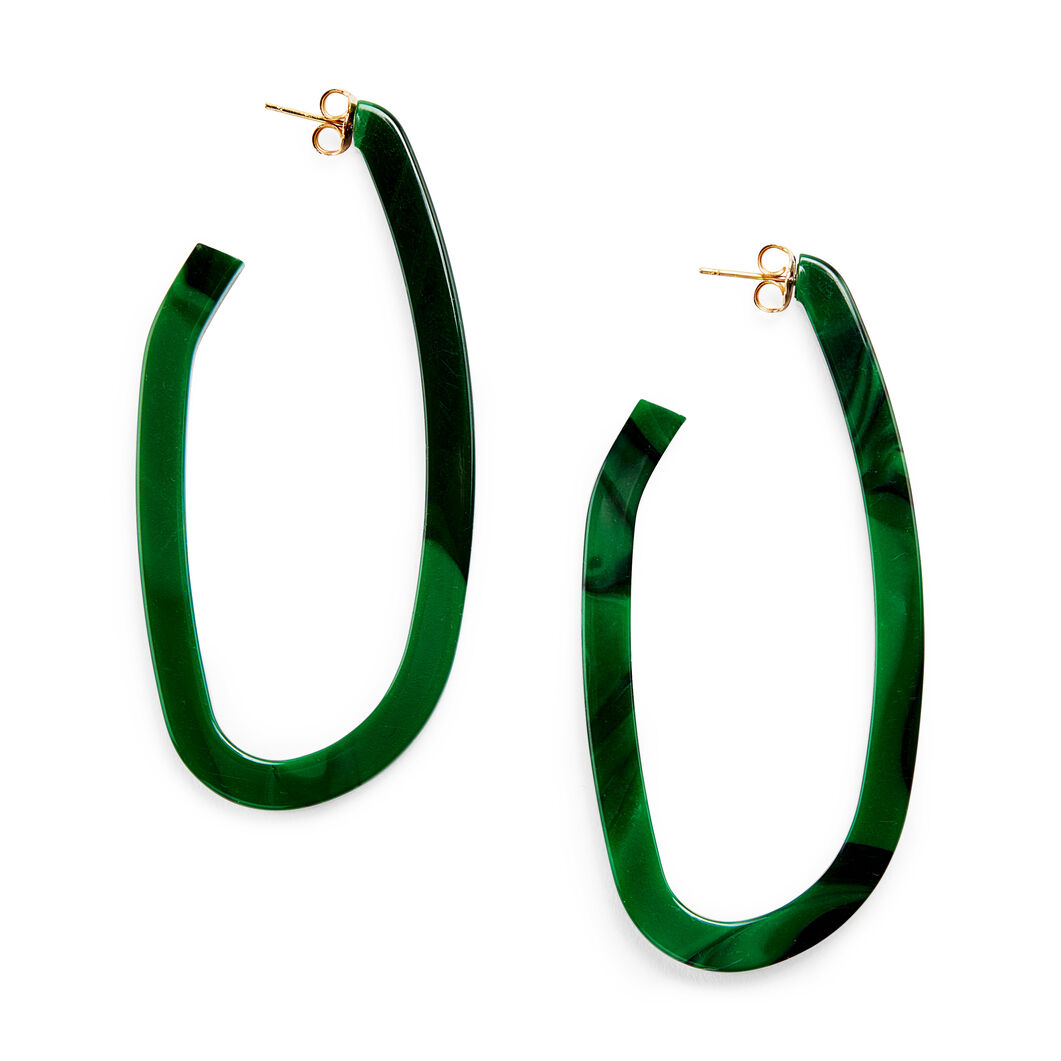 Rachel Comey Maya Earrings in color Green