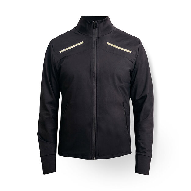 Illuminated Commuter Jacket in color Black